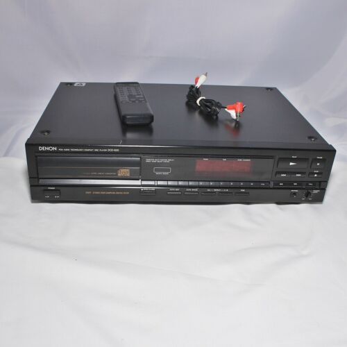 Vintage Denon DCD-620 Single Disc CD Player with Factory Remote - WORKS