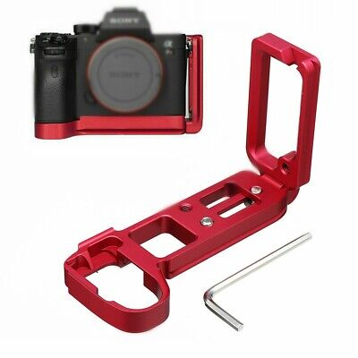 L Plate Bracket Camera Grip Camera Holder red for Sony A7RIII A9 LCE-7RM3 US