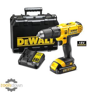 DeWALT 18v Cordless Combi Drill DCD776  Li-ion Battery & Fast Charger