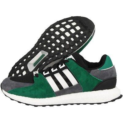 16 Boost - Adidas Boost EQT Support 93/16 Men's Shoes Black green S79923