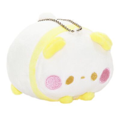 Kawaii Panda Plush (Panda Plushie Kawaii Stuffed Animal Squishy Plush Mochii Toy Yellow White)