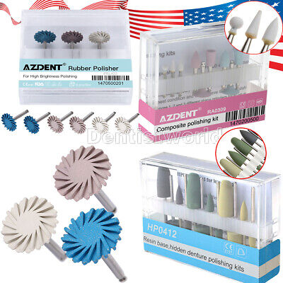 Dental Contra Angle Ra Composite Polishing Kit Rubber Brightness Resin Base