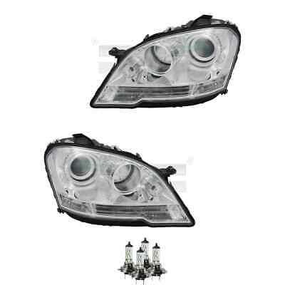 Scheinwerfer Set H7/H7 für Mercedes-Benz M-Klasse W164 inkl. Osram Lampen