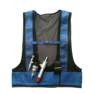 51bc6e8493c Welding Steel Air Compressed Cooling Vest Vortex Tube Air Conditioner Hot  New US