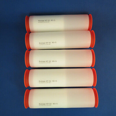 Biotage Flash Chromatography Kp-sil 40s Cartridges Qty 5