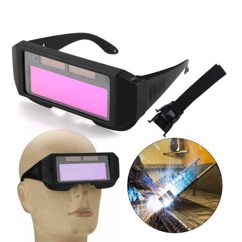 Solar Powered Auto Darkening Welding Helmet Eyes Welder Glasses Mask For Welding