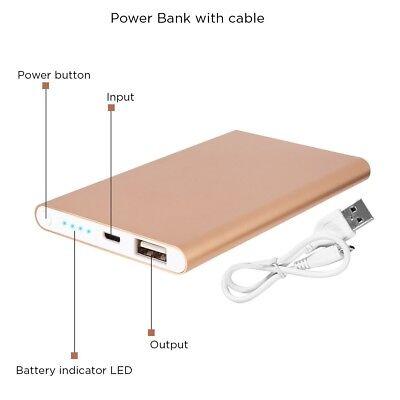 High Capacity Power Bank (Quality Power Bank 4000mAH High Capacity Ultra Compact Portable Charger External )