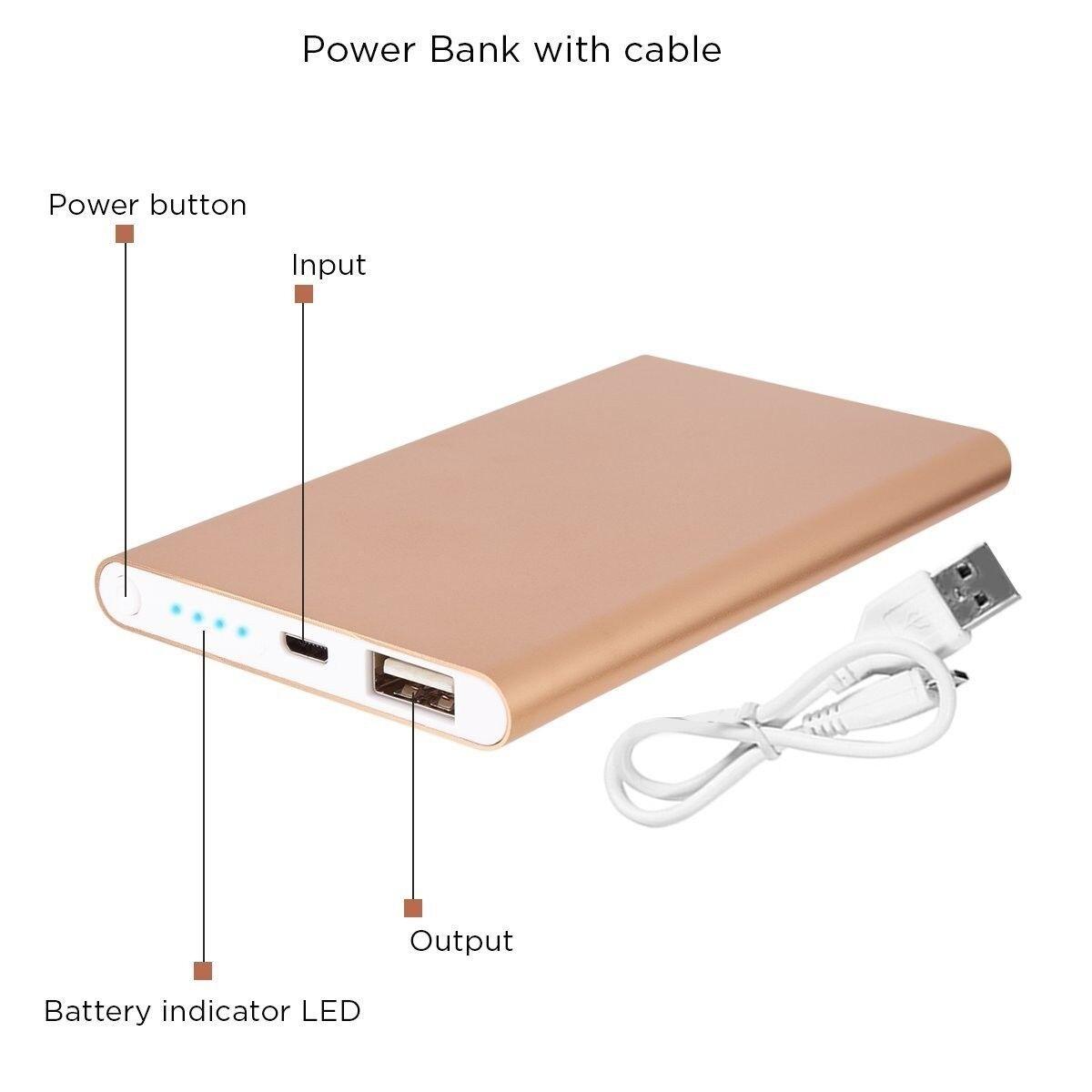 Quality Power Bank 4000mAH High Capacity Ultra Compact Porta