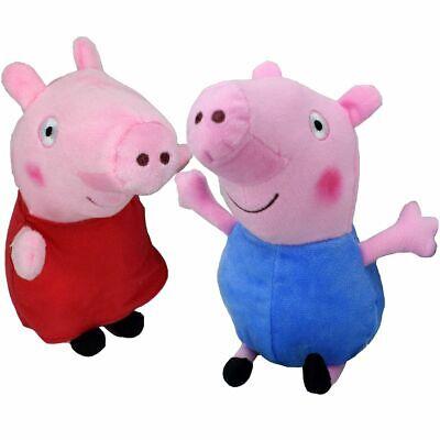 z Kuscheltier 21cm Plüsch Stofftier Teddy Plüschfigur (Peppa Pig-george)