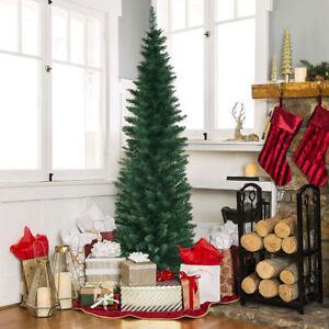 Slim Artificial Christmas Tree Ebay