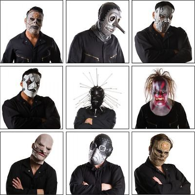 Slipknot Chris Mask (Rubies Slipknot Band Bass Chris Mick Sid Metal Adult Mens Halloween Costume)