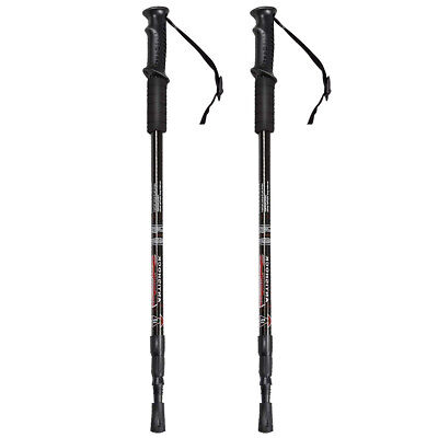 sHoPpErChOiCe Pair 2 Trekking Walking Hiking Sticks Poles al