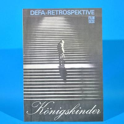 """2345 Film Für Sie 10/1975 DDR """"Königskinder"""" Annekathrin Bürger A. Mueller-Stahl"""