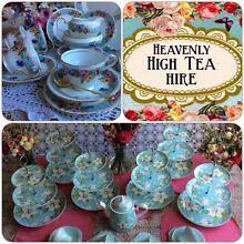 Heavenly High Tea Hire Brisbane ❤️75c an item! Toowong Brisbane North West Preview