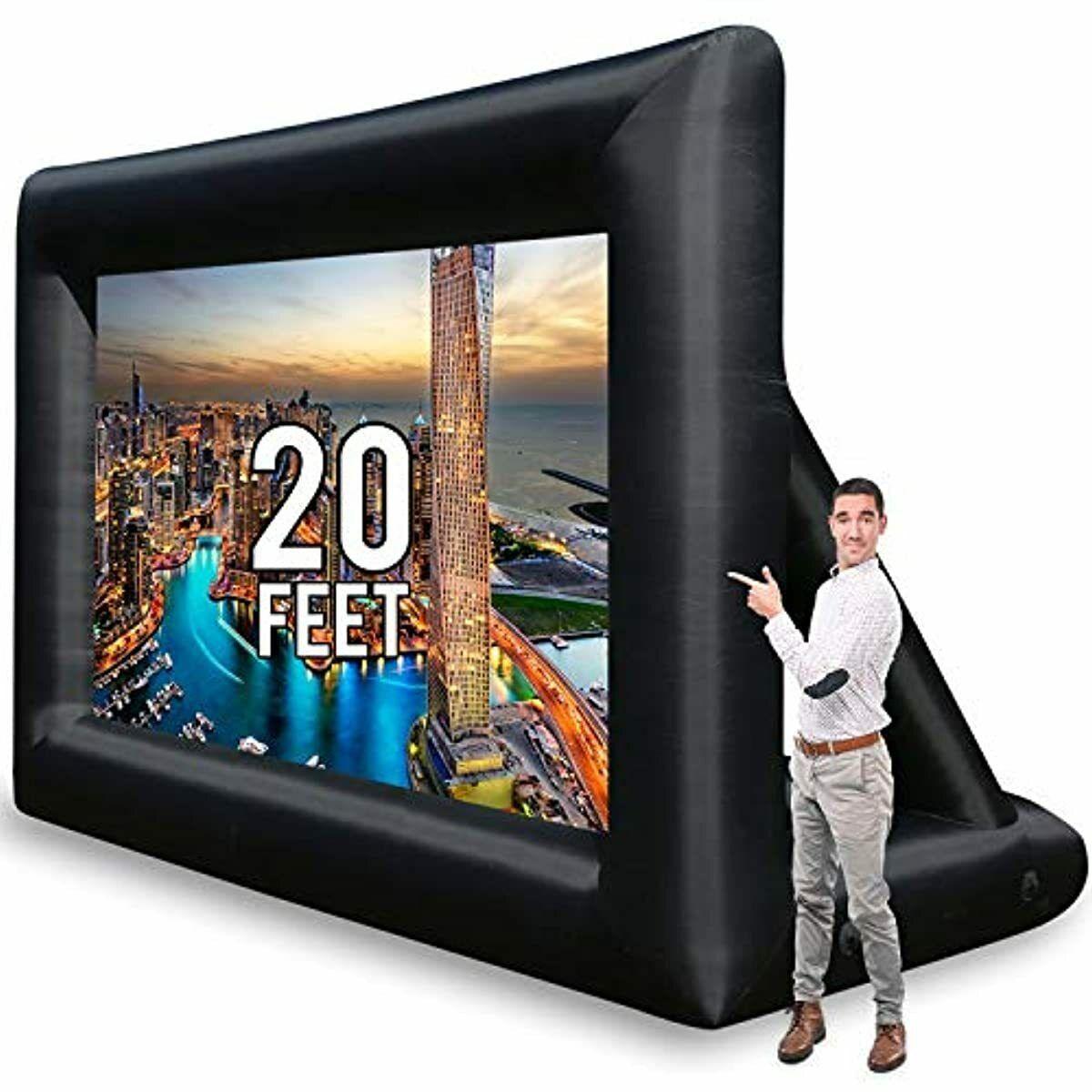 2o feet outdoor party mega large tv