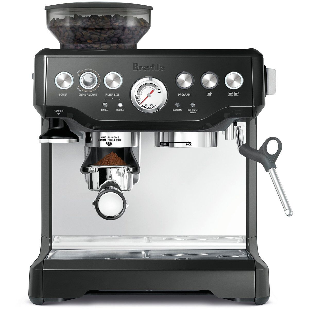 Breville The Barista Express Coffee Machine Maker (Black)