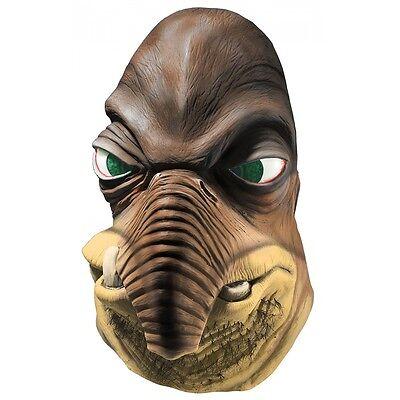 Halloween Alien Costumes (Watto Mask Adult Star Wars Alien Halloween Fancy Dress Costume)