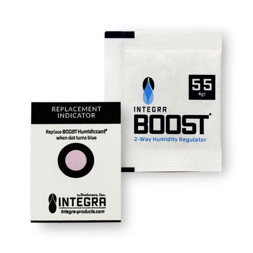 12 Pack Integra Boost RH 55% 4 gram Humidity 2 Way Control Humidor Pack