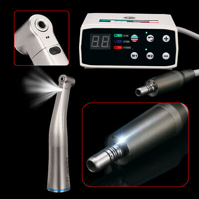 Dental Nsk Style Brushless Electric Micro Motor Led W11 Lighting Contra Angle