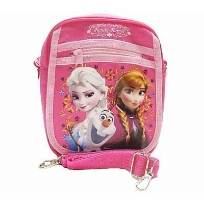 Disney Frozen Queen Elsa Camera Bag Case Little Girl Bag Handbag Licensed - Pink - Frozen Camera