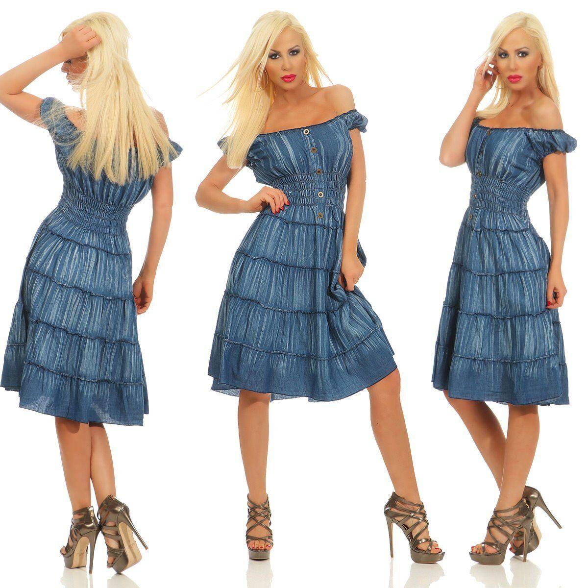 Kleid lang bandeau