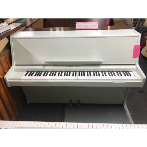 Challen 988 upright Piano in spearmint/grey/green WE CAN DELIVER