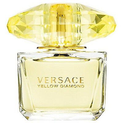 VERSACE YELLOW DIAMOND for women EDT 3.0 oz New Tester
