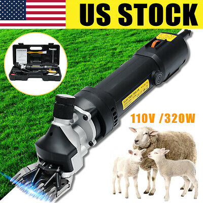 Us 110v 320w Electric Farm Supplies Sheep Goat Shear Animal Grooming Clipper