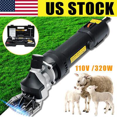 Us 110v 320w Electric Farm Supplies Sheep Goat Shear Animal Grooming Clipper