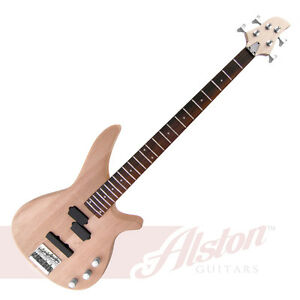 About alston b004 diy solid mahogany body electric bass guitar kit