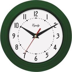 La Crosse Technology Equity Green Traditional Wall Clock 25019  - 1 Each