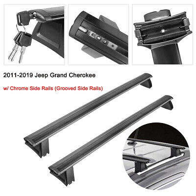 Luggage Roof Rack Cross Bars For 2011-2019 Jeep Grand Cherokee w/ Side Rails