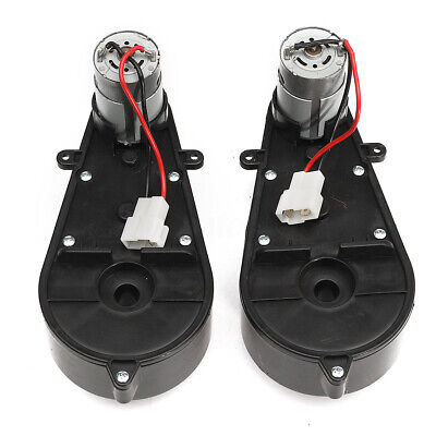 2X Electric Motor Gear Box 23000RPM 12V For Kid Ride On Car