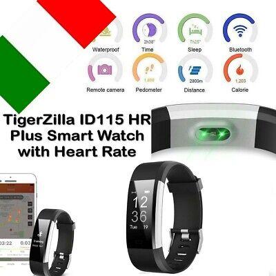 ID 115HR PLUS Bluetooth Smart Watch Bracelet Pedometer Sport Fitness Tracker