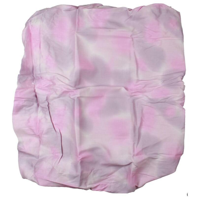 Truly Scrumptious by Heidi Klum Butterfly Wonderland Pink Crib Sheet BHFO 3624