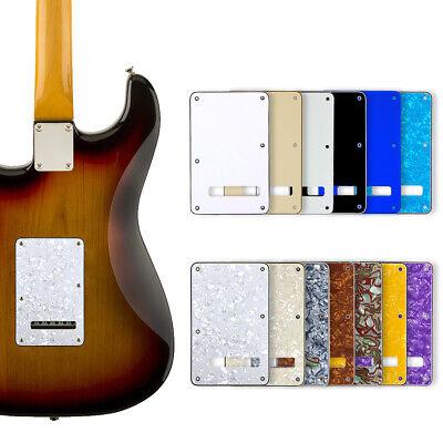 Back Plate Tremolo Cavity Cover for Fender Standard Stratocaster Strat Guitar