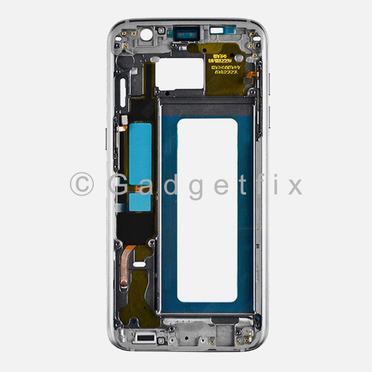 Black Samsung Galaxy S7 Edge G935r4 G935f Middle Housing ...