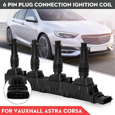 Ignition Coil Pack For Vauxhall for Astra G MK4 Agila Corsa C MK2 MK3 Meriva MK1