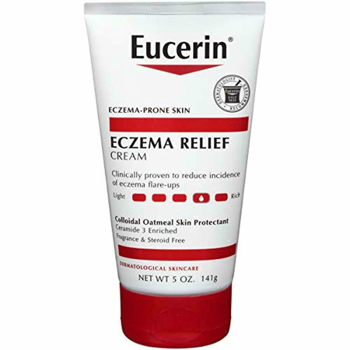 Eucerin Eczema Relief Cream - Full Body Lotion for Eczema-Pr