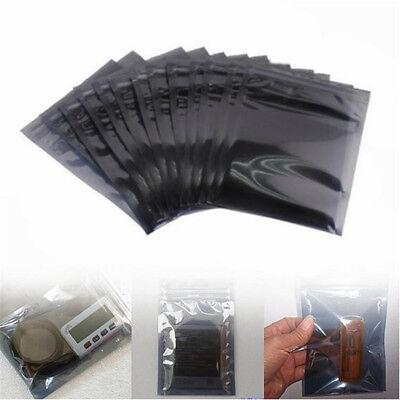 2050pcs Anti-static Shielding Zip Lock Storage Self Seal Antistatic Bags