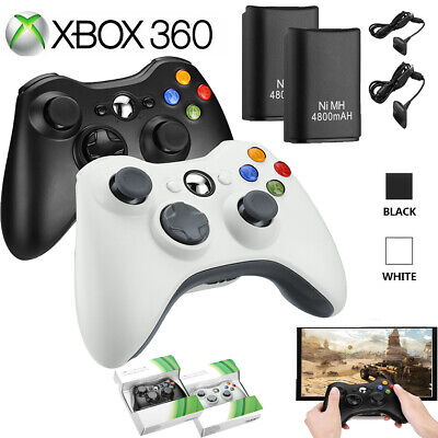 Wireless Game Controller Gamepad Joystick Pad for Microsoft Xbox 360 & PC NEW ()