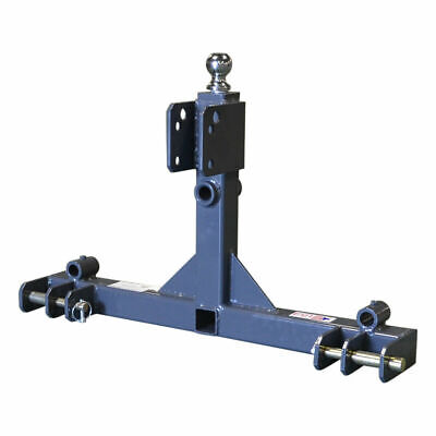3 Point Gooseneck Tractor Trailer Hitch Receiver And Hay Attachment