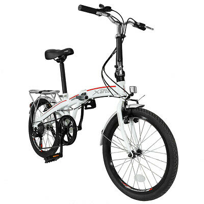 "Xspec 20"" 7 Speed City Folding Mini Compact Bike Bicycle  Co"