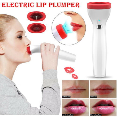 USB Rechargeable Portable Lip Plumper For Fuller Lush & Beautiful Natural Lips Health & Beauty