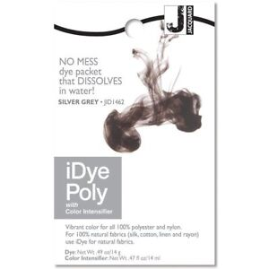 Jacquard iDye Fabric Dye Poly & Nylon 14g Silver/Grey