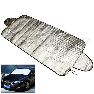 190*70cm Car SUV Snow Ice Sun Dust Magnetic Windshield Cover Protector Shield