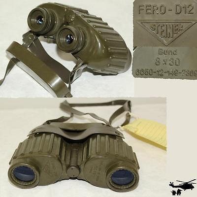 Bundeswehr Fernglas Steiner Fero-D12 8x30 Strichplatte Depotware Qualität B Ware