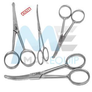 Grooming NOSE SCISSORS MOUSTACHE Mustache Scissors Hair Trimming Baby Scissor
