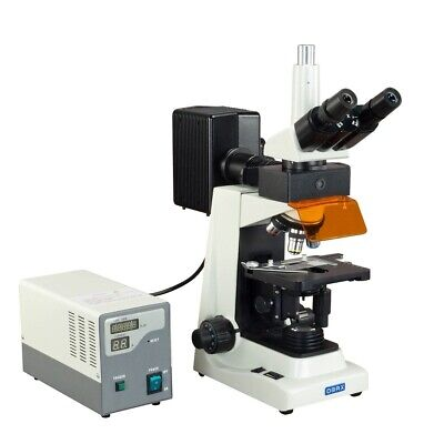 Omax 40x-2500x Epi-fluorescence Trinocular Biological Compound Microscope