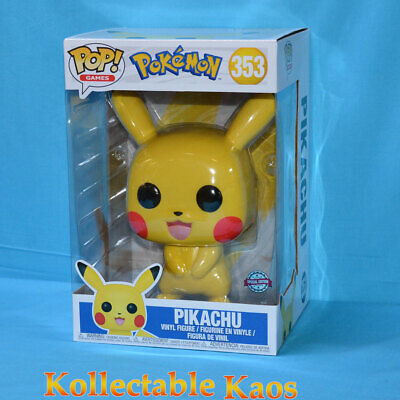 "Pokemon - Pikachu 25cm(10"") Pop! Vinyl Figure (RS) #353"
